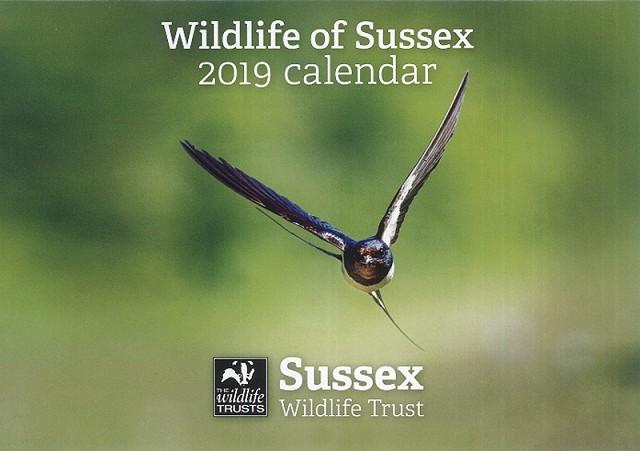 Sussex Wildlife Trust 2019 Calendar