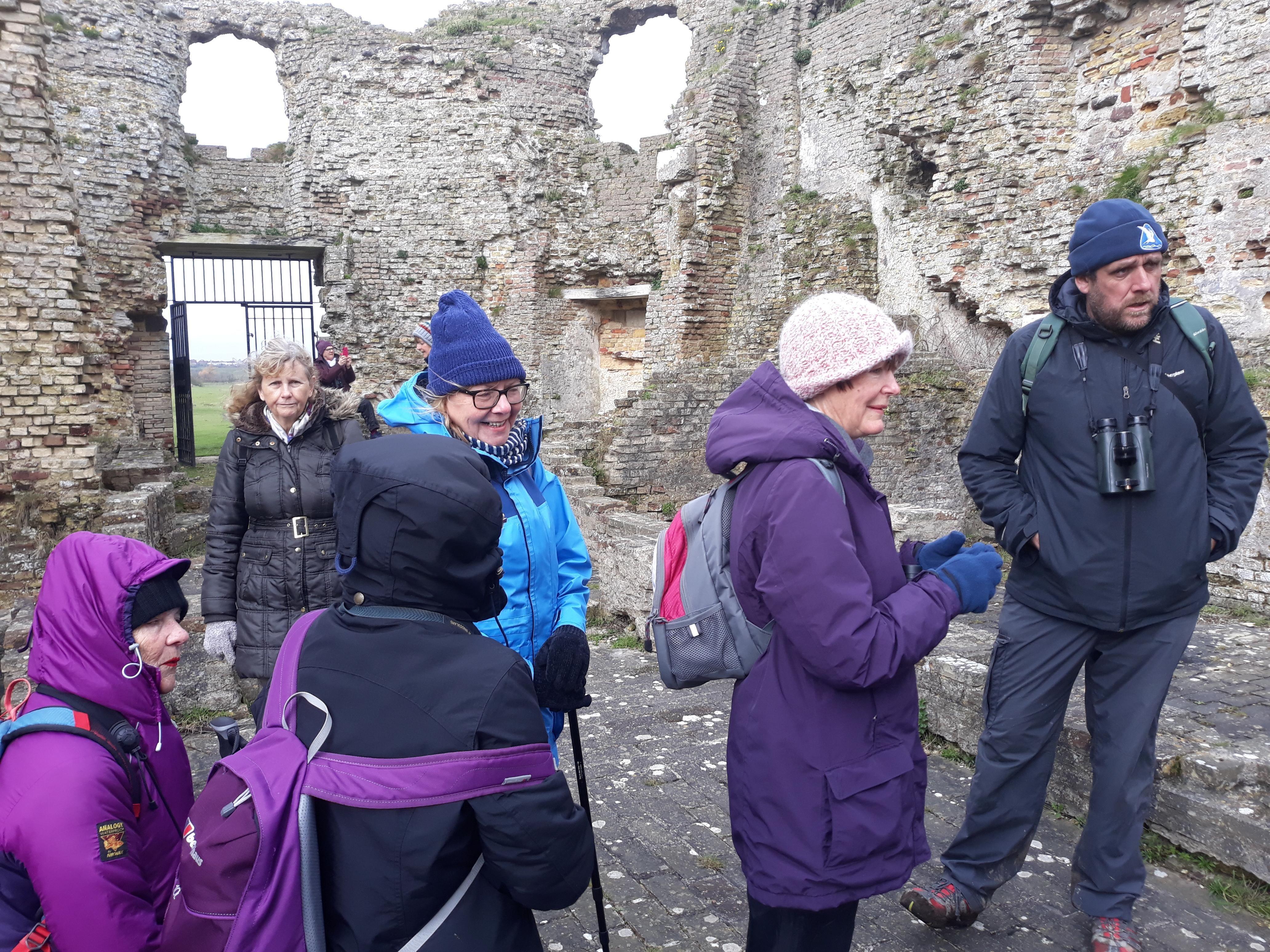 50th anniversary walk Camber Castle