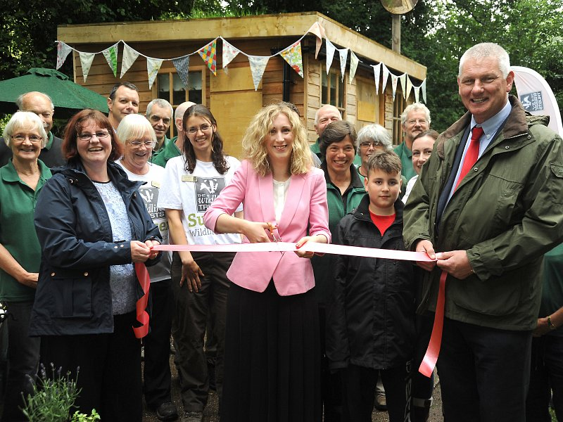 Eco-friendly garden opened in Henfield