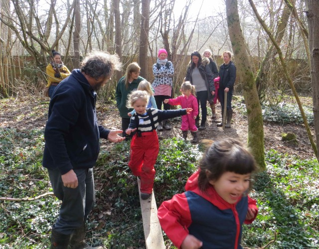 Tots Back to School for woodland fun
