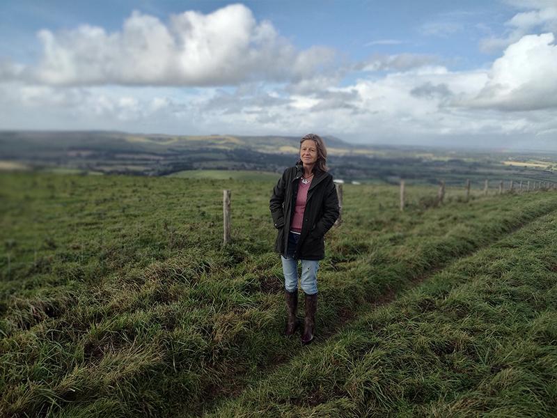We speak to downland farmer Annie Brown