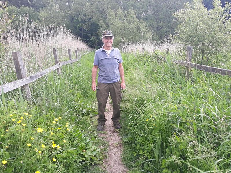 Meet our volunteers - Derek Bates