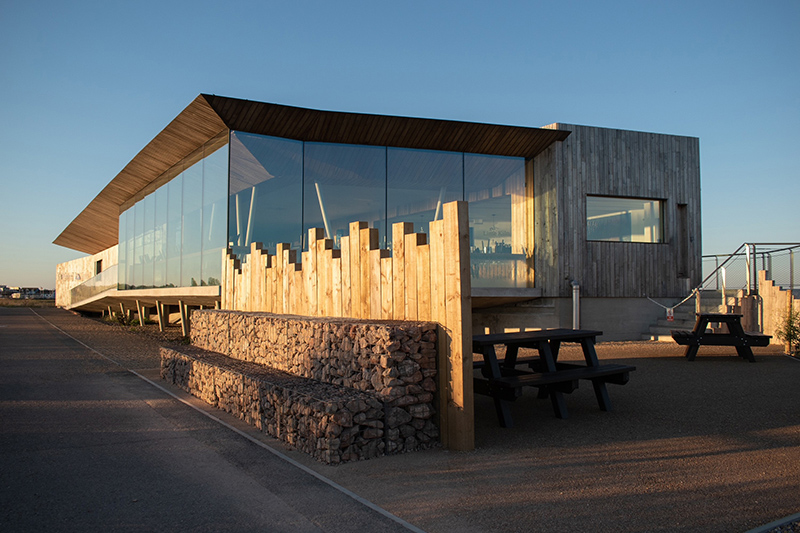 Rye Harbour Discovery Centre © Oliver Bates