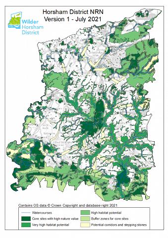 Horsham Distict NRN   Version 1   July 2021