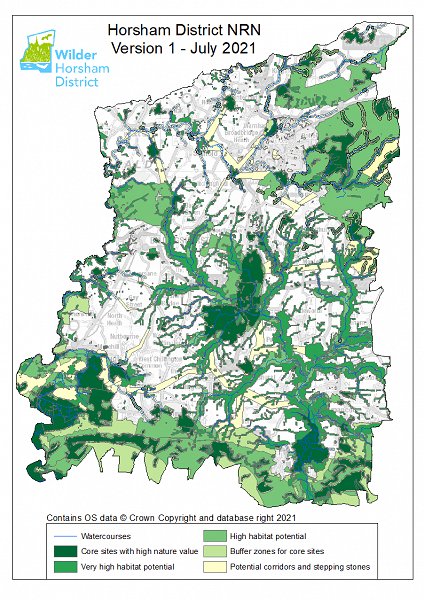 Mapping Nature's Recovery in Horsham District