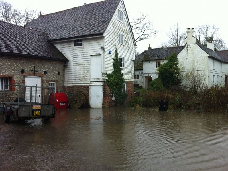 Woods Mill nature reserve closed due to flooding