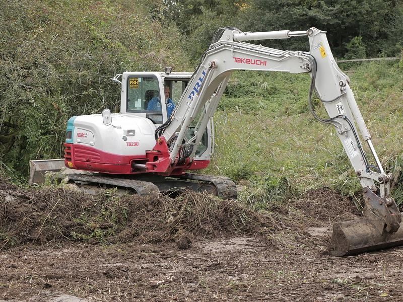 Habitat Restoration Project at Woods Mill