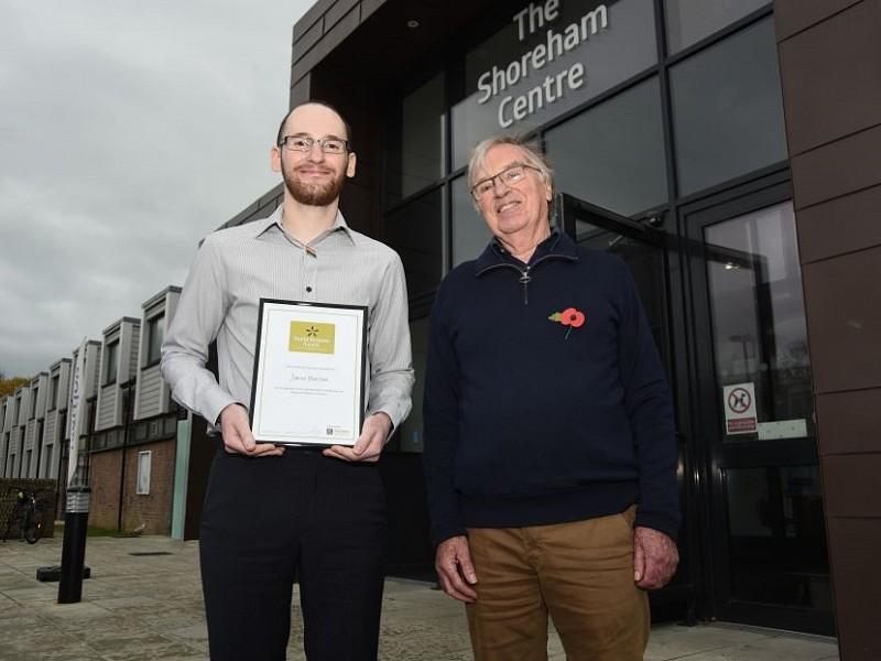 We speak to Jamie Burston, winner of the David Streeter Award
