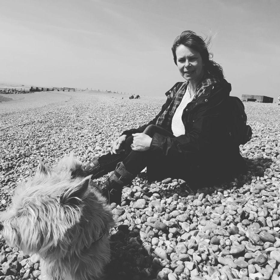 Jane Lovell writer in residence at Rye Harbour Nature Reserve