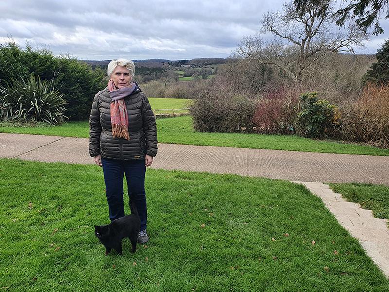 Rye Harbour Discovery Centre Café Manager Leah Athol-Murray
