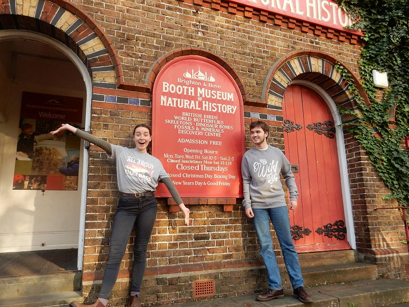 Booth Museum shop stocks Sussex Wildlife Trust products as part of a plastic-reducing initiative