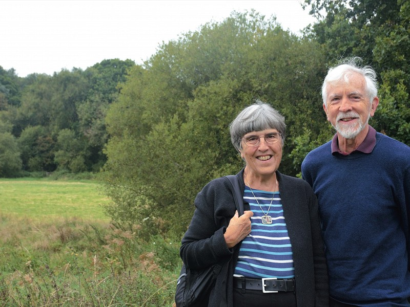 Why we decided to remember Sussex Wildlife Trust in our wills