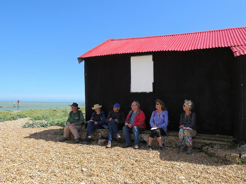 Getting creative at Rye Harbour Nature Reserve