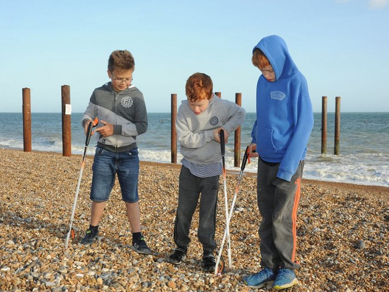 Help marine wildlife with your Tesco 'Bags-of-Help' blue token