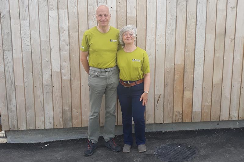 Meet our volunteers - Sally and Stephen Masters