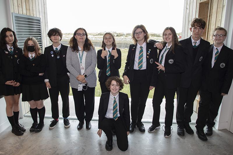 Rye College pupils