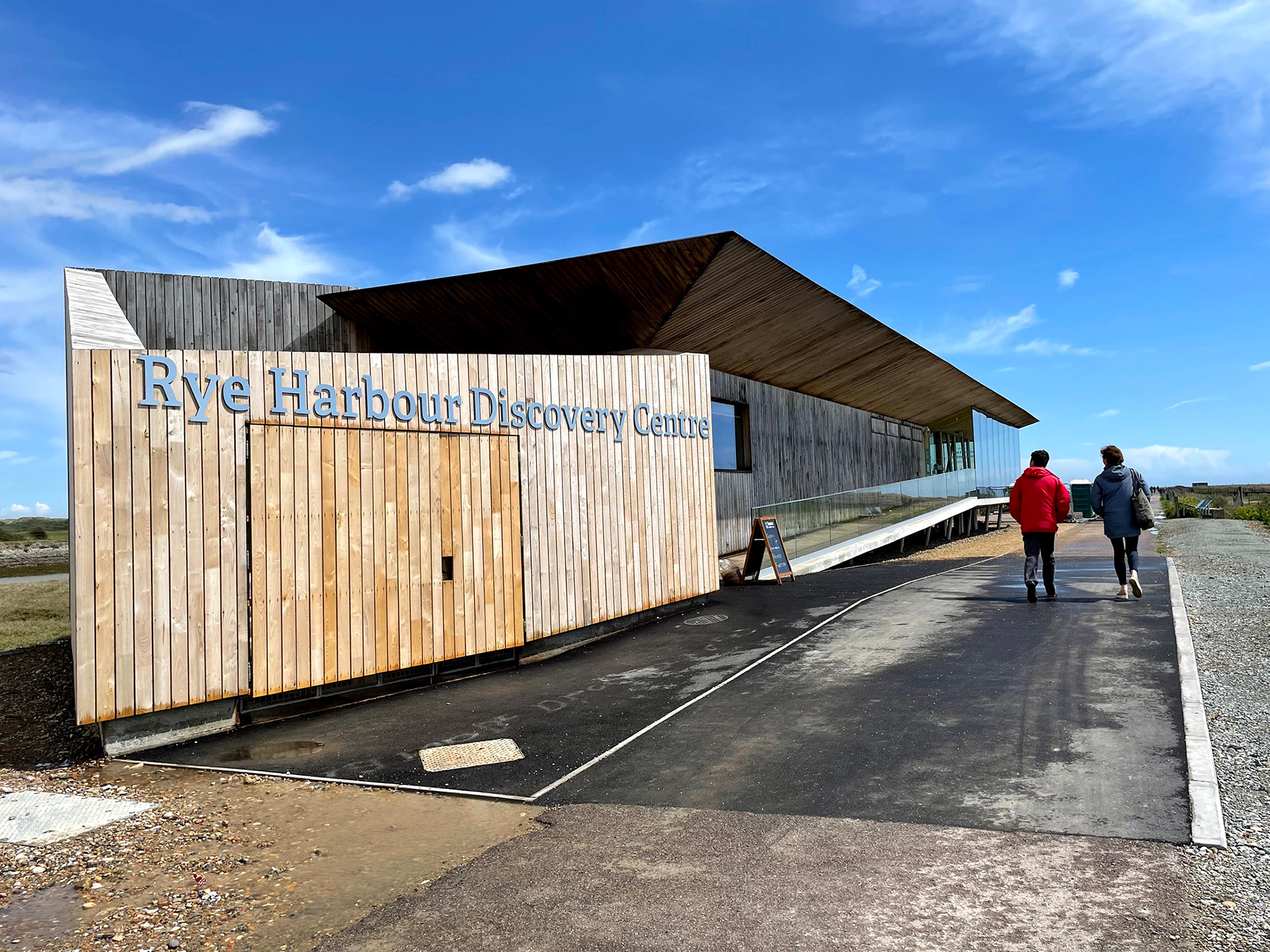 Rye Harbour Discovery Centre opening update