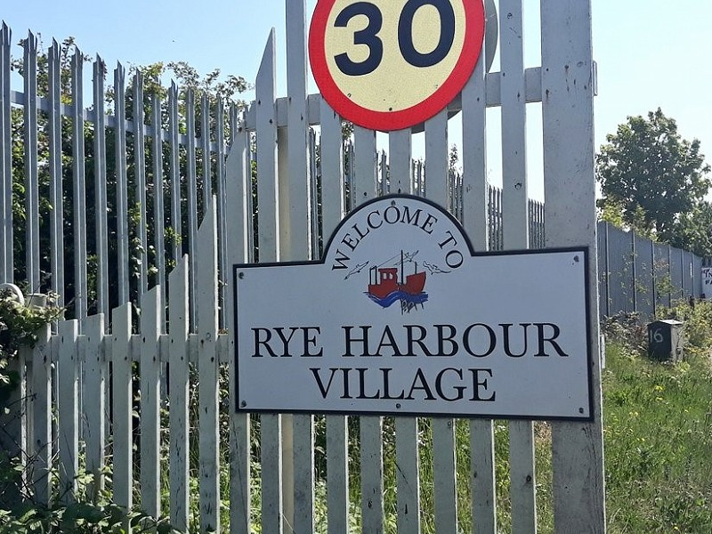 We try... getting to Rye Harbour by public transport