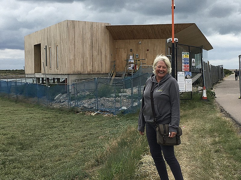We speak to Rye Harbour Discovery Centre Manager Liz Grant