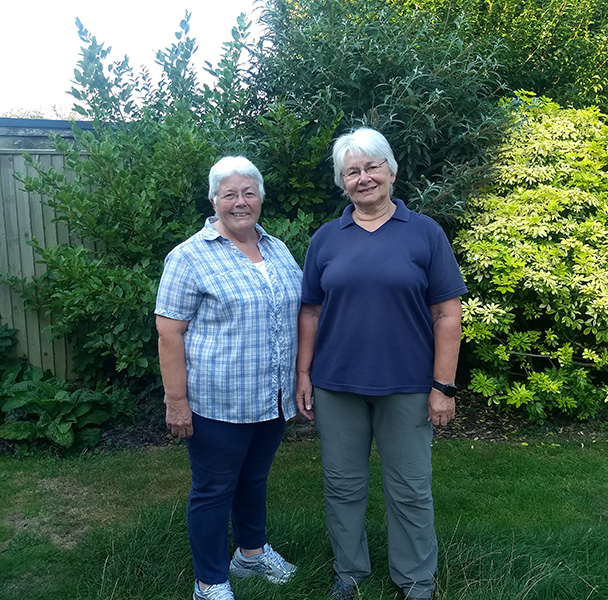 Meet Our Members: Polly and Sue