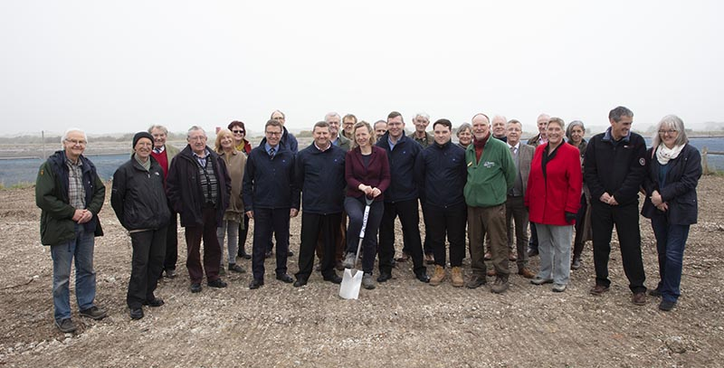 Groundbreaking Ceremony for the Discovery Centre