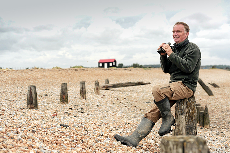 Dr Barry Yates celebrates 36 years at Rye Harbour Nature Reserve