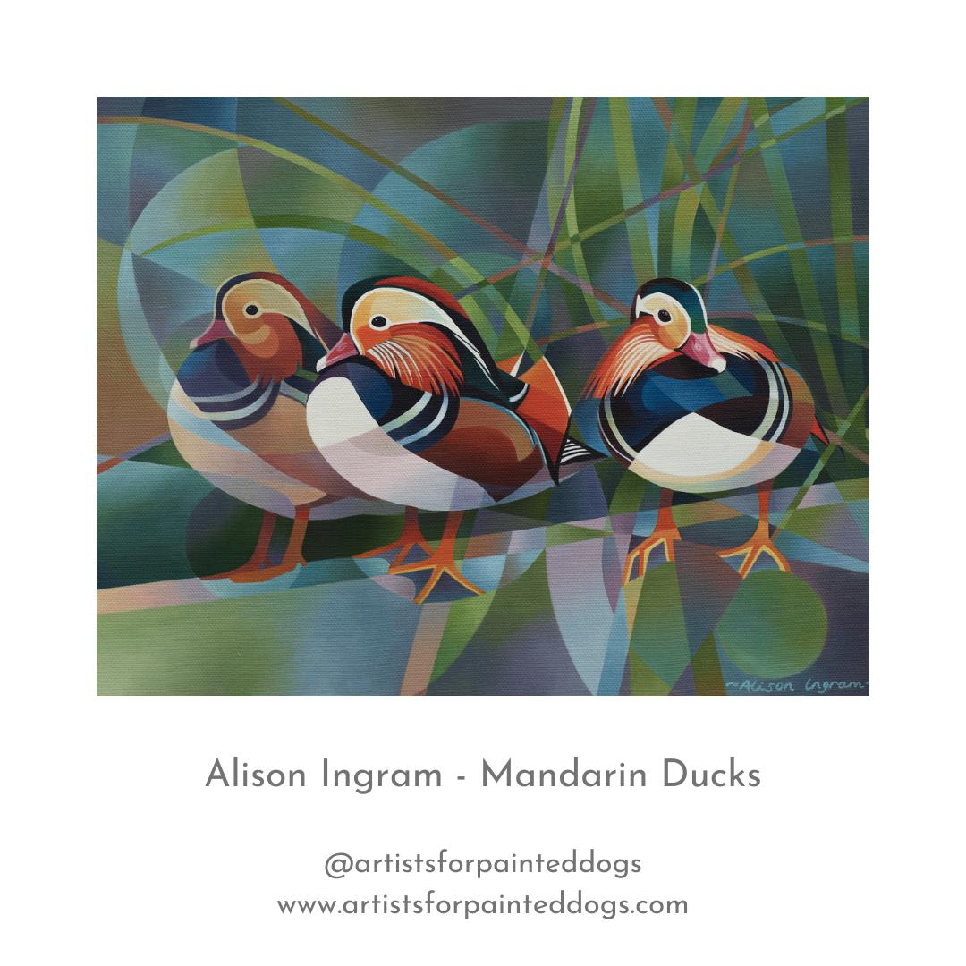 AI Mandarin Ducks