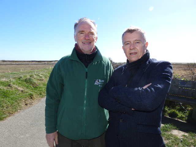 Barry and Alastair Fairley