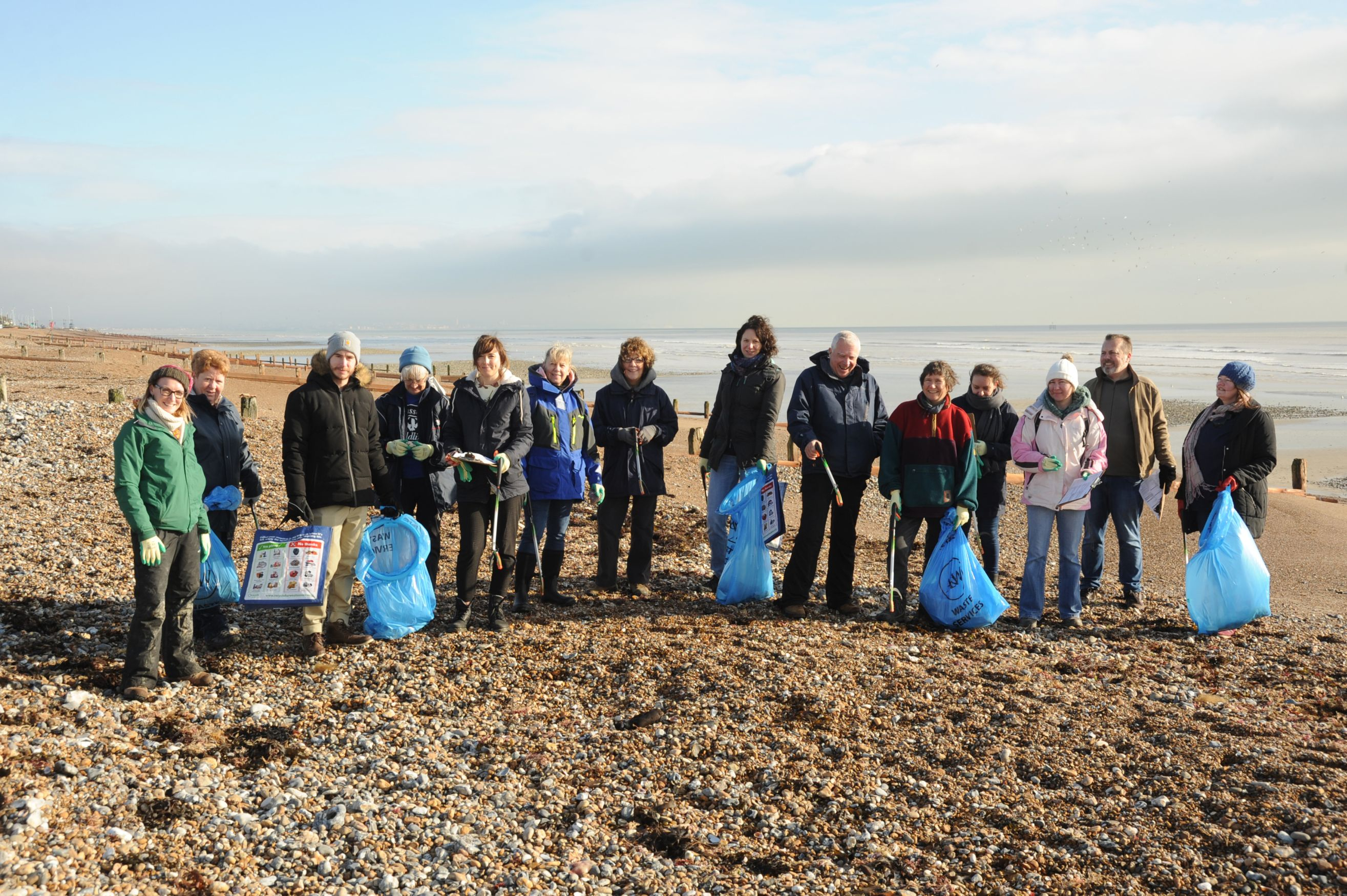 Beach clean 2018©Miles DaviesSussex Wildlife Trust