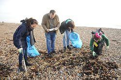 Seaford Head Beach Clean