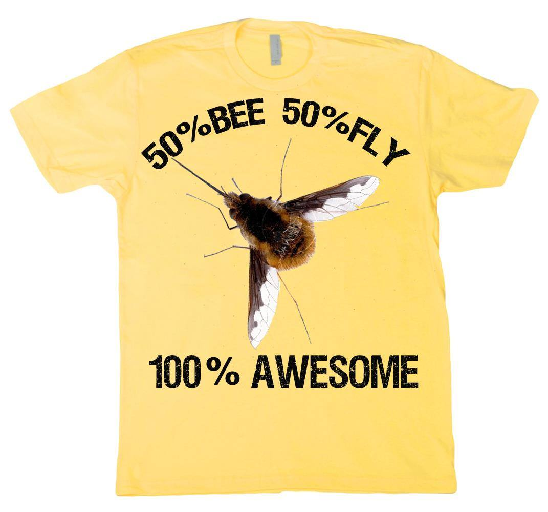 Bee fly t shirt