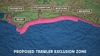 Sussex IFCA proposed trawling exclusion zone