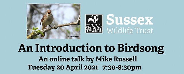 An introduction to Birdsong (FULLY BOOKED)