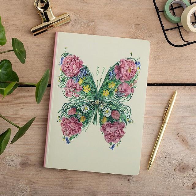 Butterfly Notebook by Daniel Mackie