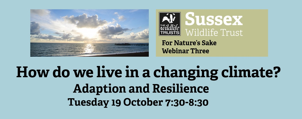Webinar: How do we live in a changing climate?