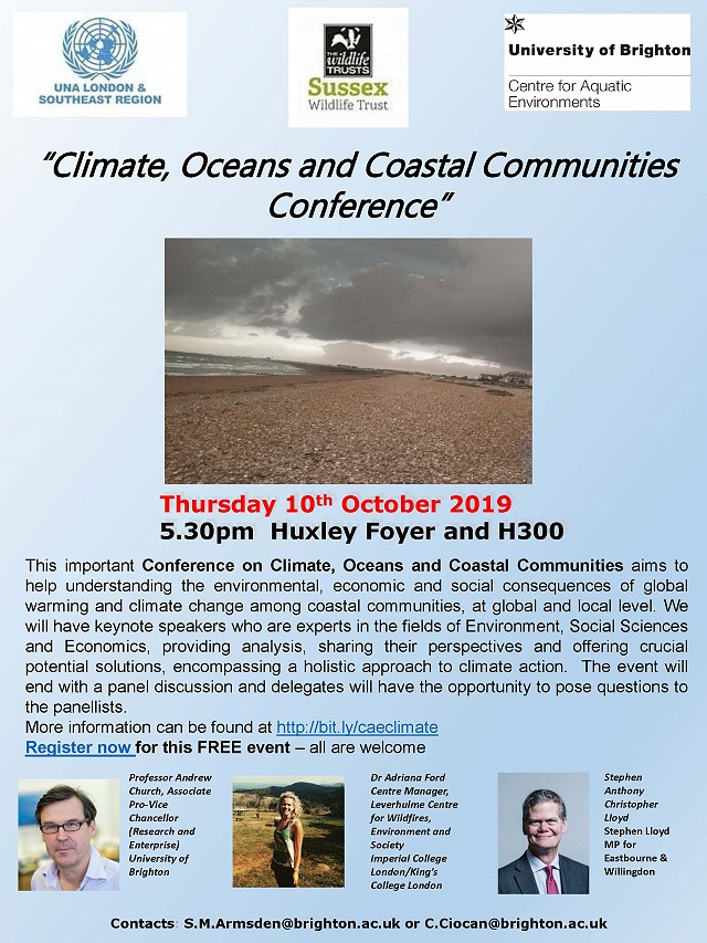 Climate, Ocean and Coastal Communities Conference