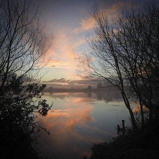 dawn at Castle Water