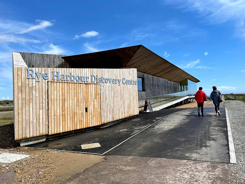 Rye Harbour Discovery Centre opening
