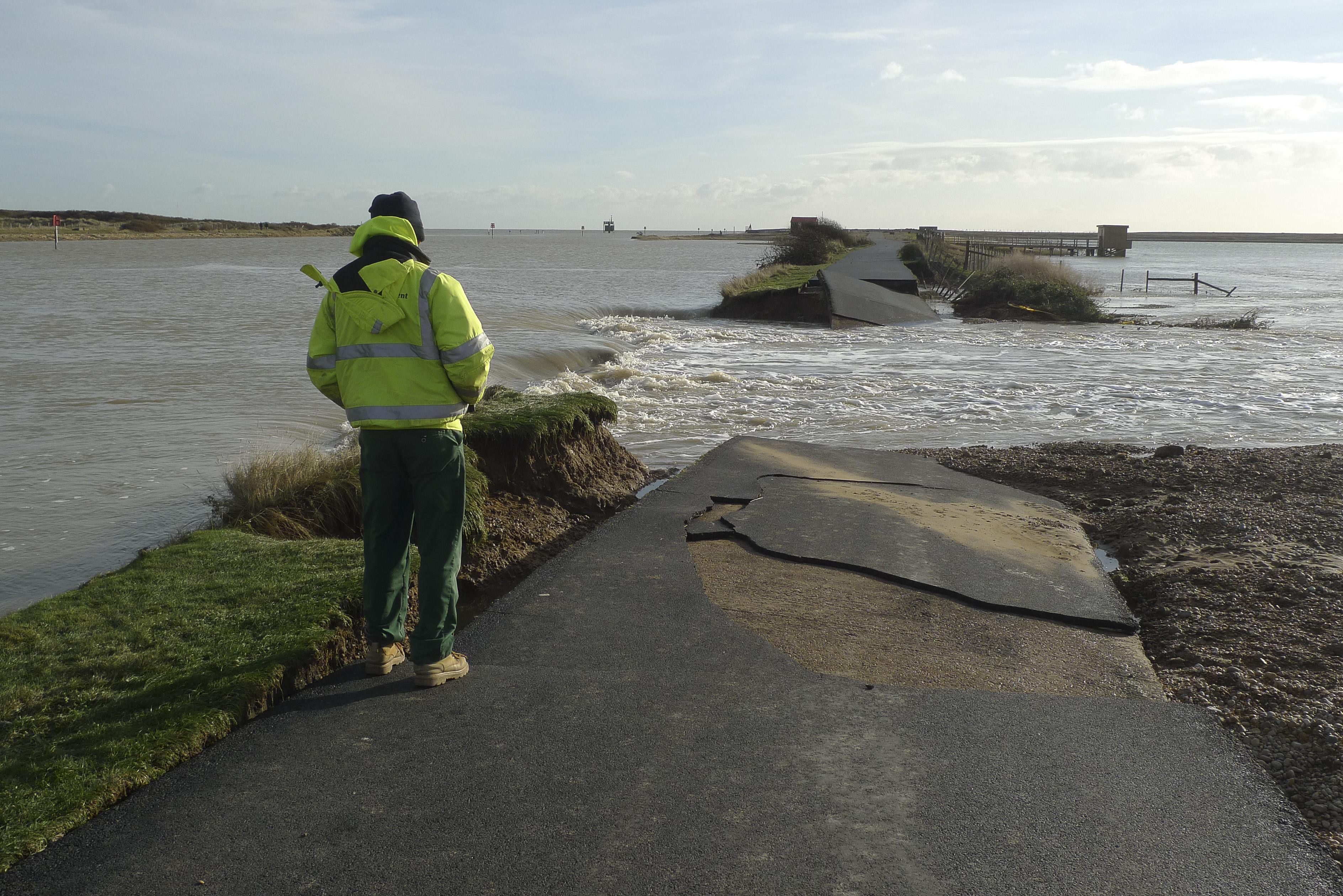 Rye Harbour Flooding December 2013
