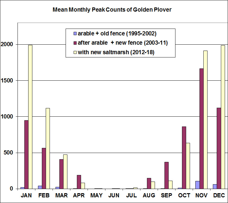 Golden plover graph