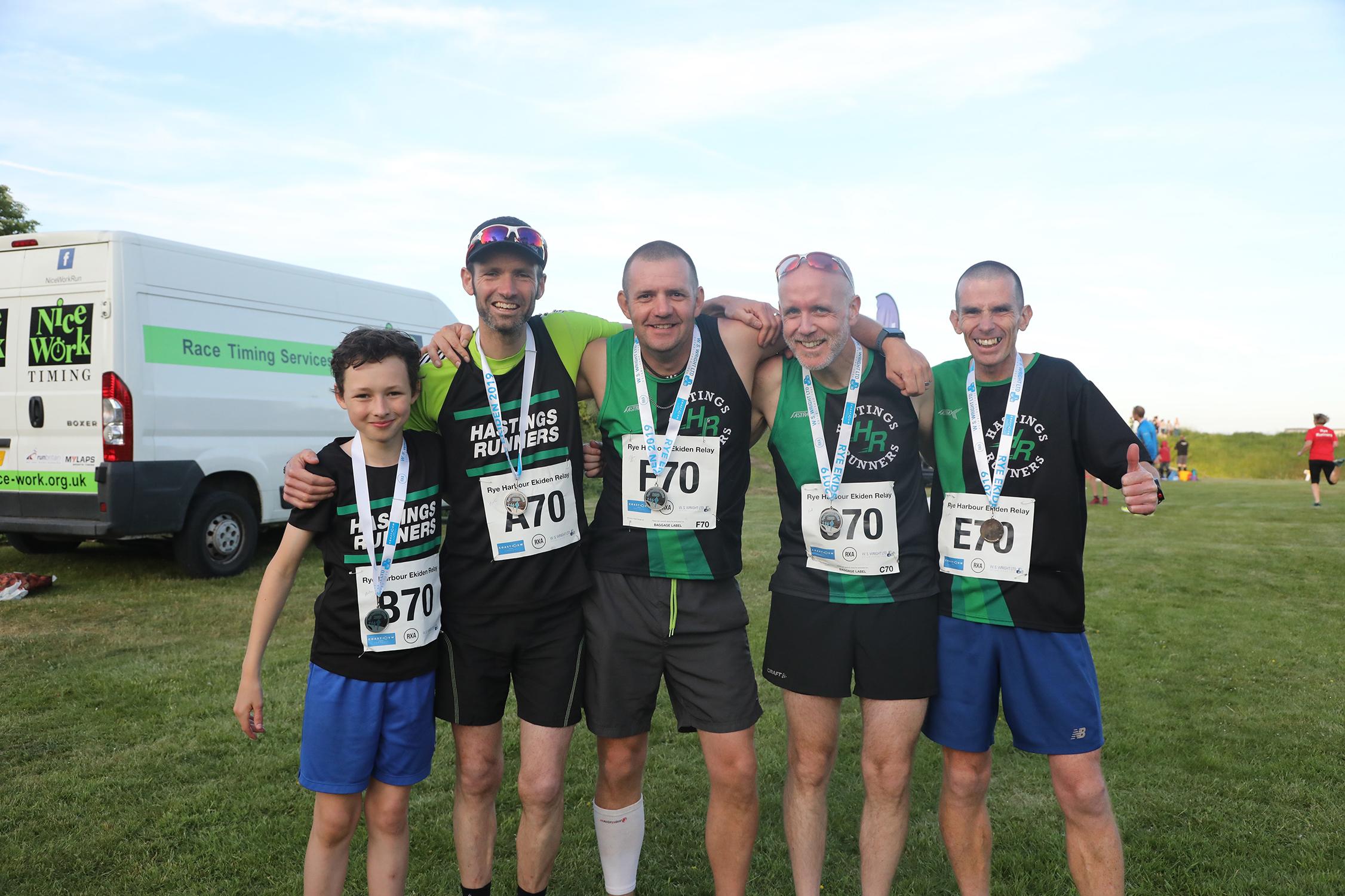 Hastings runners team 417A0551
