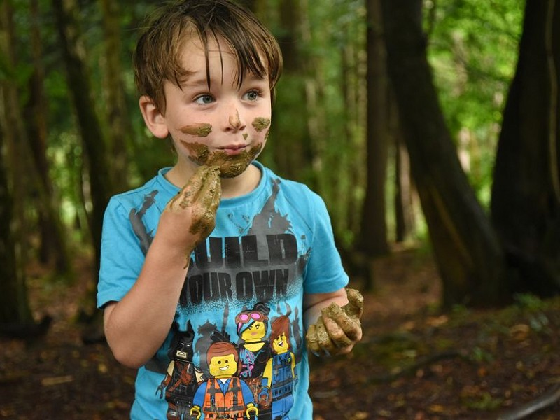 Nature Tots go wild in March