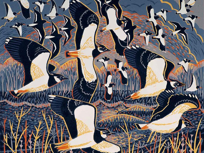 Wildlife artist Annie Soudain