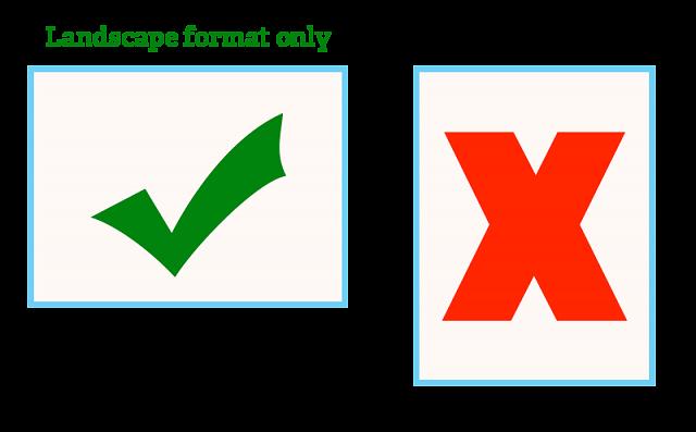Photo comp format