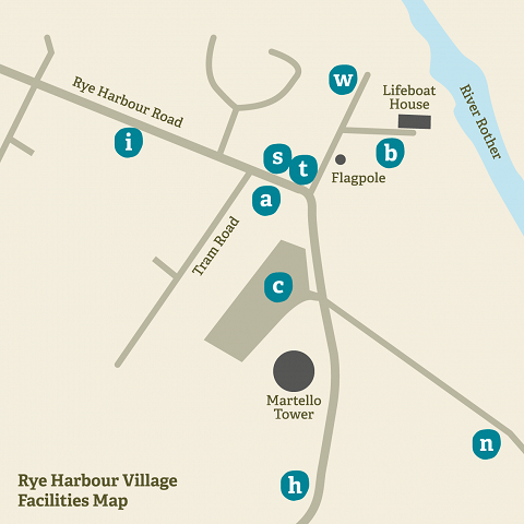 RHNR facilities map 2018