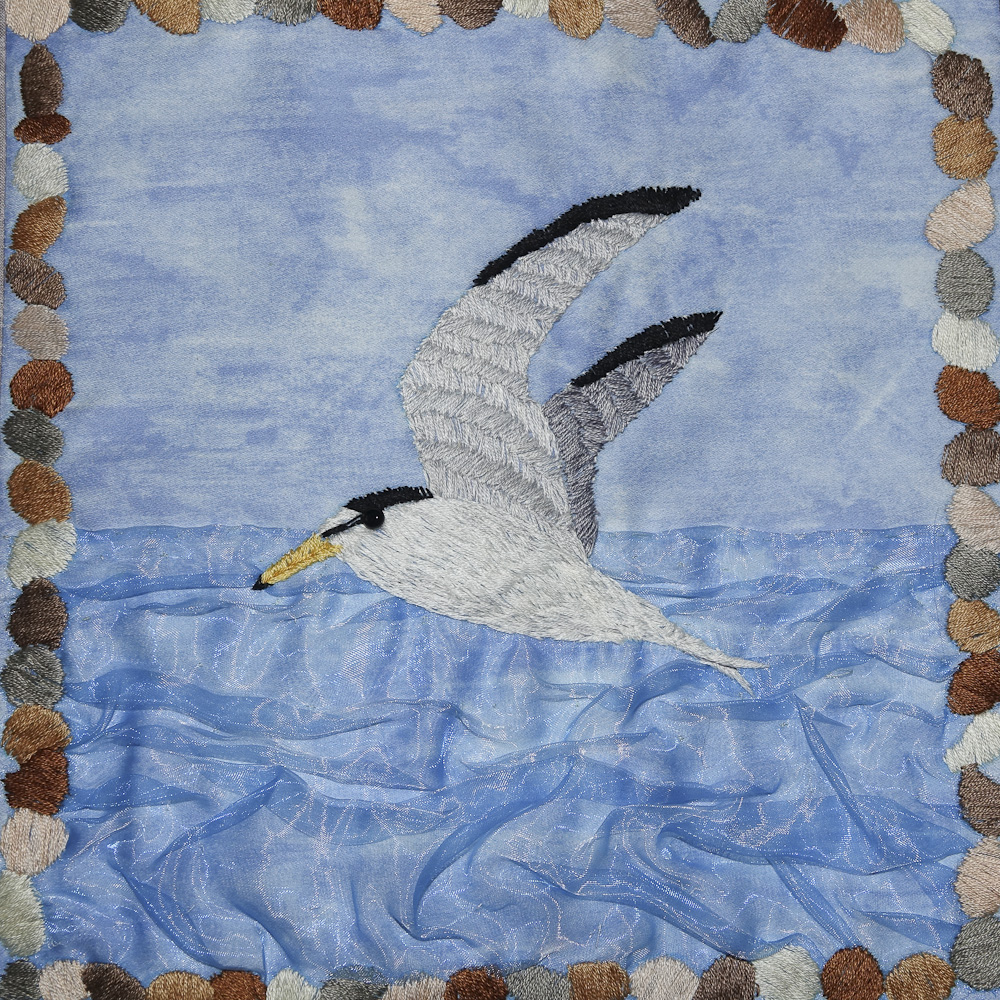 Rye Harbour quilt squares small 15