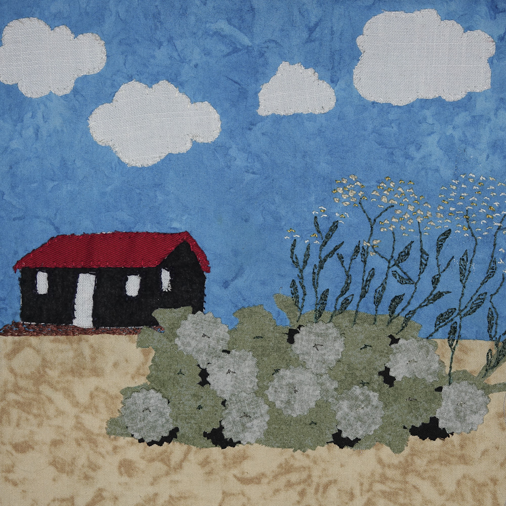 Rye Harbour quilt squares small 28