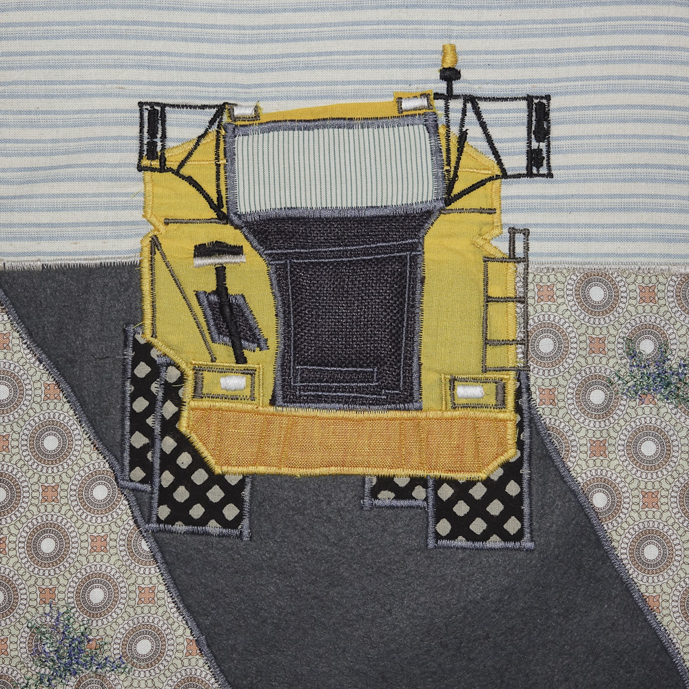 Rye Harbour quilt squares small