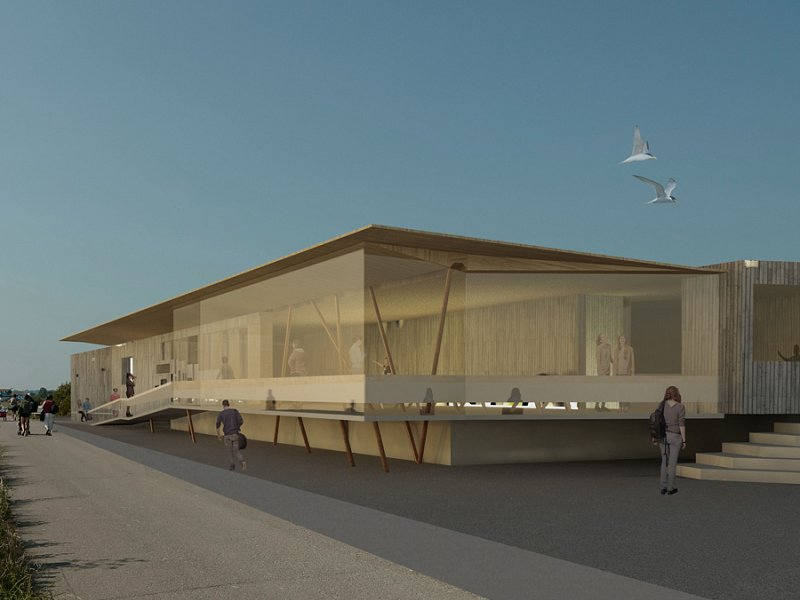 New Discovery Centre Development for Rye Harbour nature reserve