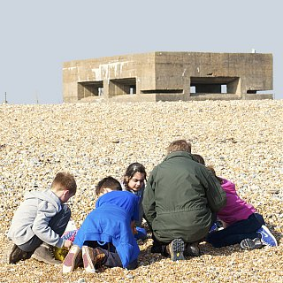 Rye Harbour beach study